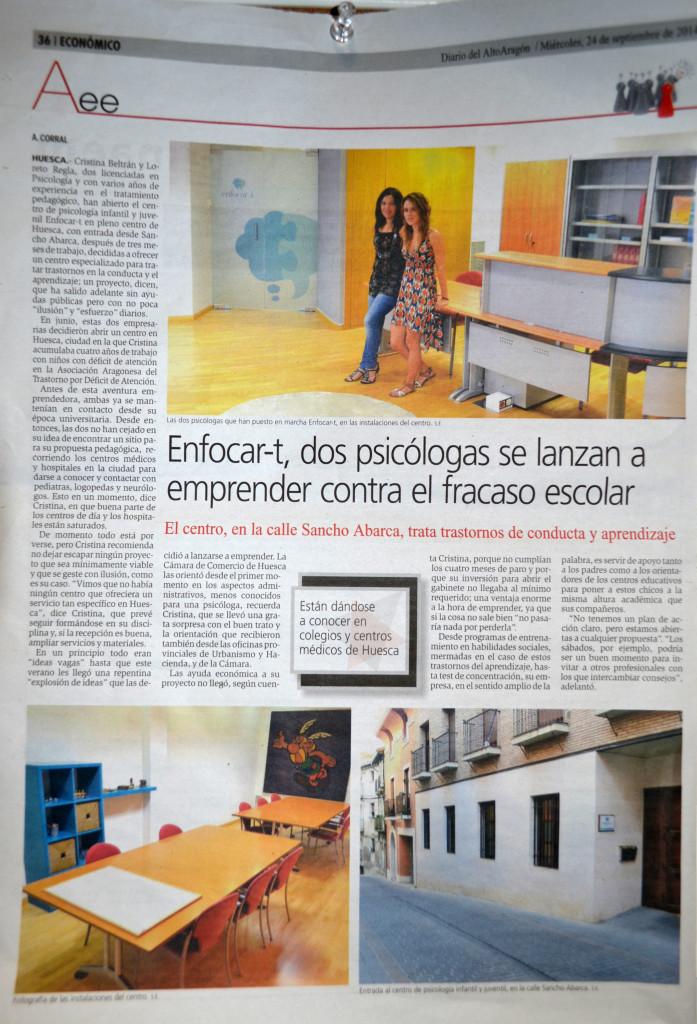 Centro de psicología infantil y juvenil en huesca